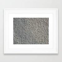gray Framed Art Prints featuring GRAY by Manuel Estrela 113 Art Miami