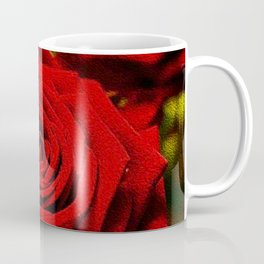 Rose oil painting Coffee Mug