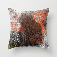 wicked Throw Pillows featuring Wicked by Jessielee