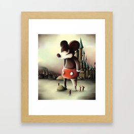 Mickey's Kingdom Framed Art Print