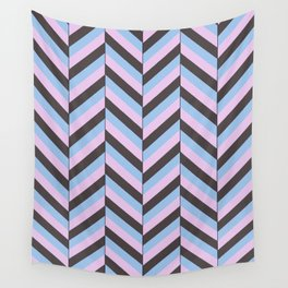 Offset Chevron Wall Tapestry