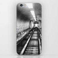 subway iPhone & iPod Skins featuring Subway by Leah Galant