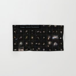Hubble Space Telescope - Series of Colliding Galaxies (2008) Hand & Bath Towel