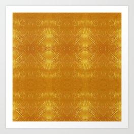 Pure Gold Diamond Art Print