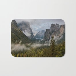Yosemite National Park / Tunnel View  4/26/15 Bath Mat