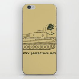 Michael Wittmann Panzer Ace 1331 Kursk Sand/Olive Green iPhone Skin