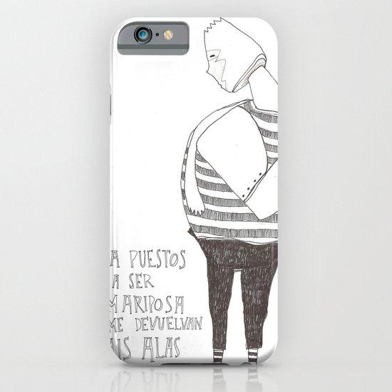 Hombre Mariposa iPhone & iPod Case