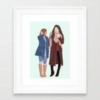 korrasami Framed Art Prints featuring korrasami by Ana Rocha