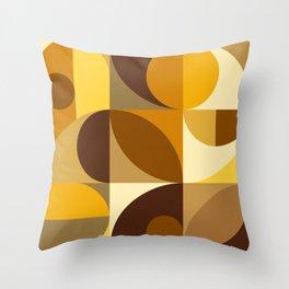 Mid Century 30B Throw Pillow