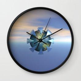 Still Life On Earth Wall Clock