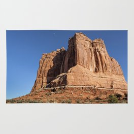 Courthouse Towers - Arches National Park Rug