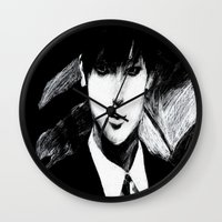 kpop Wall Clocks featuring Assassin Tao by Ahri Tao