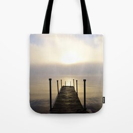 Into the Light: Sunrise, First Full Day of Fall Tote Bag