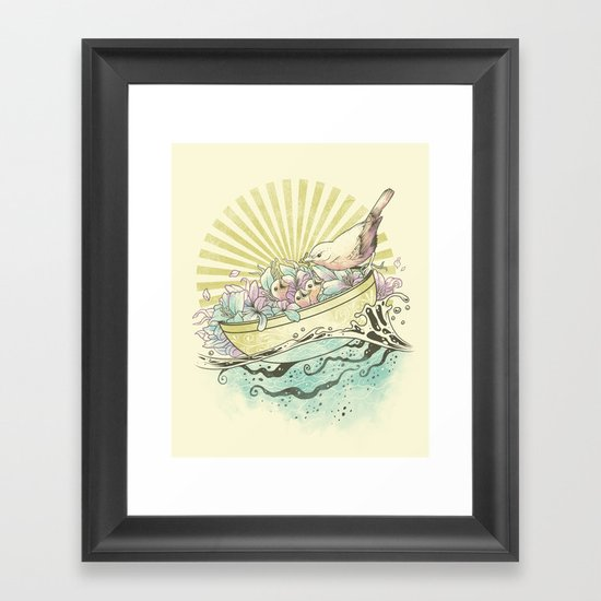 Unique Nesting Framed Art Print