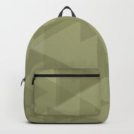 Sand triangles in the intersection and overlay. Backpack