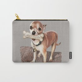 Little Dog, Big Bone Carry-All Pouch