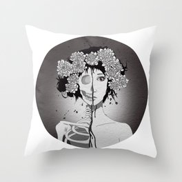 Almost dead Throw Pillow