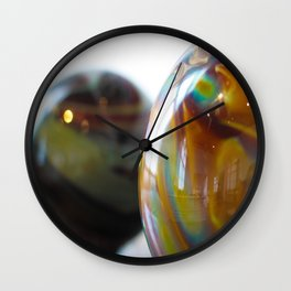 Roll in colours Wall Clock