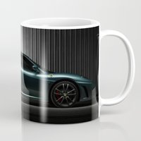 ferrari Mugs featuring Ferrari F430 by Vasco Estrelado - Photographer