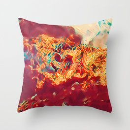 Death Stranding with Fire Throw Pillow