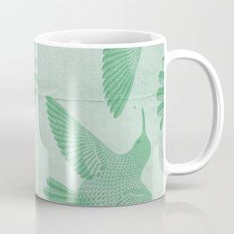 Hummingbird Pattern Coffee Mug