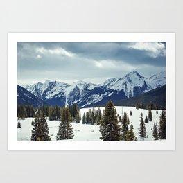 Rocky Mountains Art Print