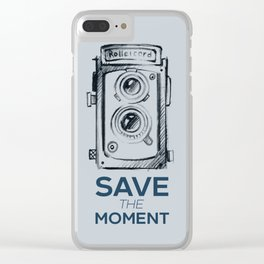 Save the Moment Clear iPhone Case