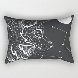 Wolf constellations Rectangular Pillow