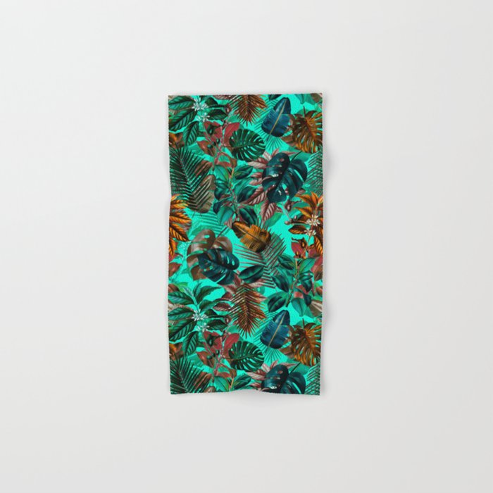 Tropical Garden II Hand & Bath Towel