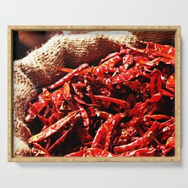 Hot Chili Peppers Serving Tray