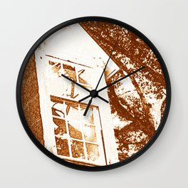 Sketching Window Wall Clock