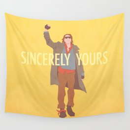 Sincerely Yours (The Breakfast Club) Wall Tapestry