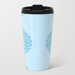 Screw Circle Metal Travel Mug