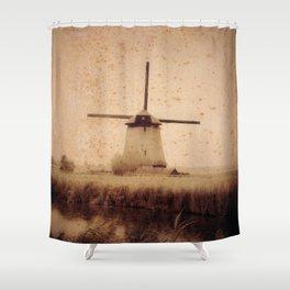 Vintage Mill Shower Curtain