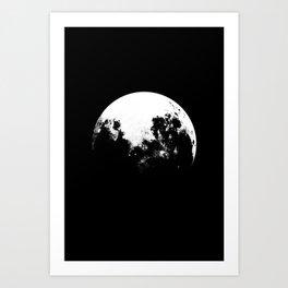 MOOON Art Print
