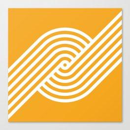 Incurve [Orange] Canvas Print