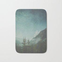 Misty Wilderness - Italian Alps Bath Mat