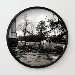 After The Fire Wall Clock