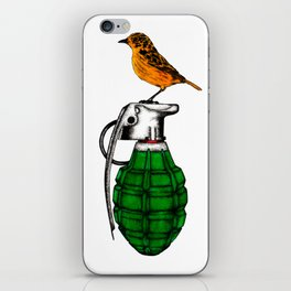 Perch of the world iPhone Skin