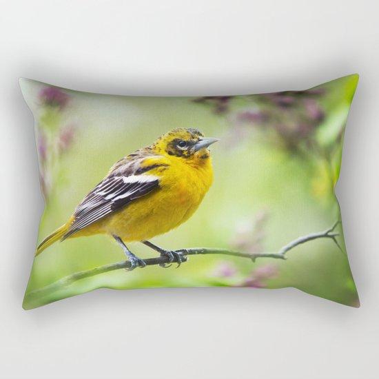 Spring Oriole Rectangular Pillow
