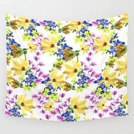 Yellow Baby Nature Wall Tapestry