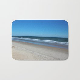 The Beach Awaits You Bath Mat