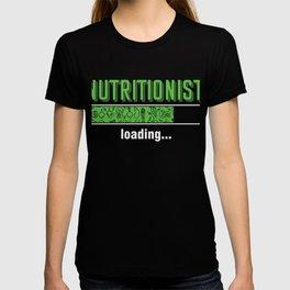Health Conscious Dietitian Diet Food Vegan Veggies Gift Nutritionist Loading T-shirt
