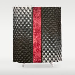 Sexy Dots. Fashion Textures Shower Curtain