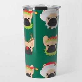 Xmas Bulldogs Travel Mug