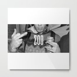 Kreep Zoo Metal Print
