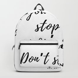 46   | 190423 Motivational Quotes Backpack