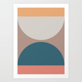 Abstract Geometric 23 Art Print