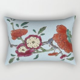 Flowering tree branch Rectangular Pillow