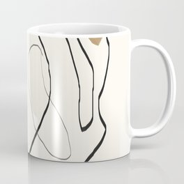 Abstract Face Coffee Mug